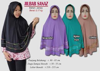 Jilbab bergo model baru bahan jersey