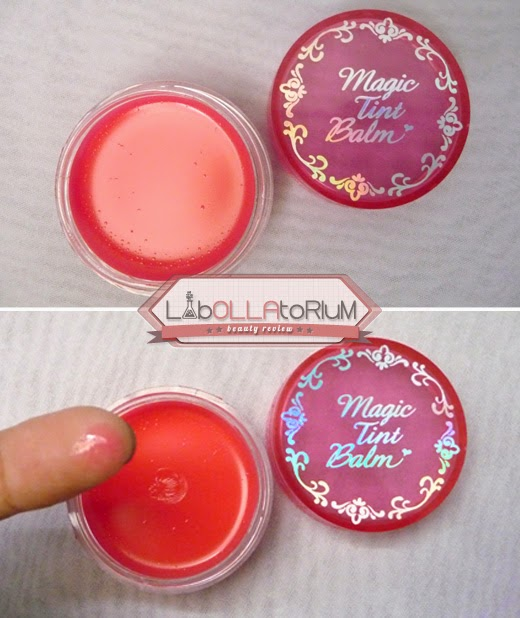 Etude House Magic Tint Balm Magic Pink Texture Form Scent Taste