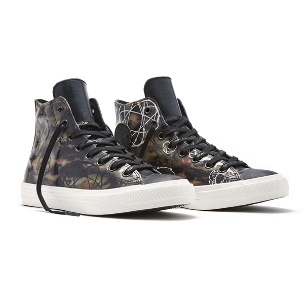 47996ae0d3aa Converse x Futura Chuck Taylor All Star II Rubber Hi. 153022C Water  Resistant  Full Rubber Upper Gusseted Tongue Closed Medial Eyelets