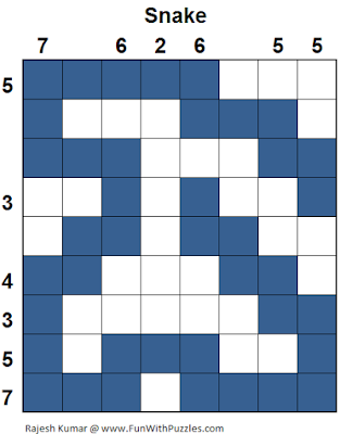 Snake (Logical Puzzles Series #11) Solution