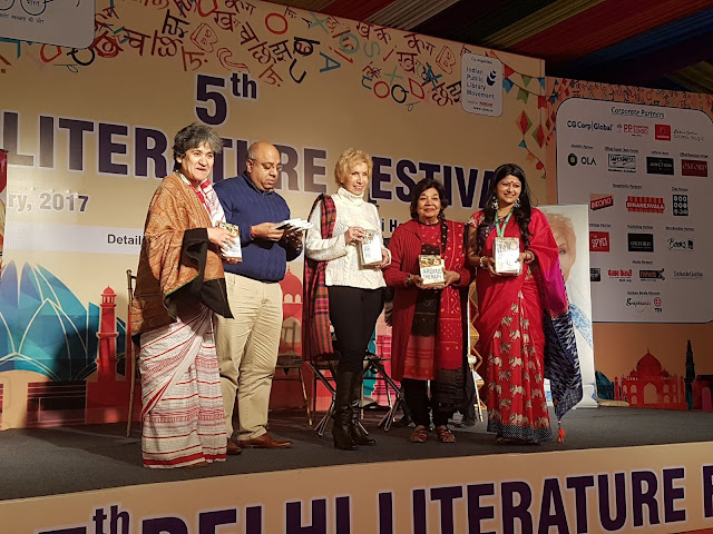 "Dr. Blossom Kochhar ""Aromatherapy A Way Of Life at the Delhi Literature Festival published by Hay House Publishers India"
