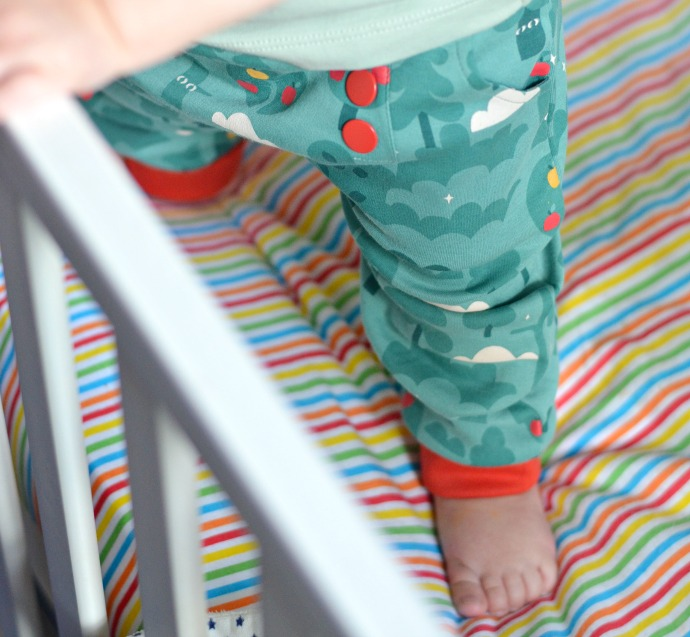 little green radicals, organic kidswear, apple trousers