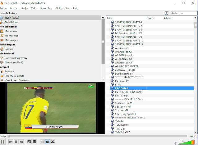IPTV beIN Max, Sky, Fox, BT Sport