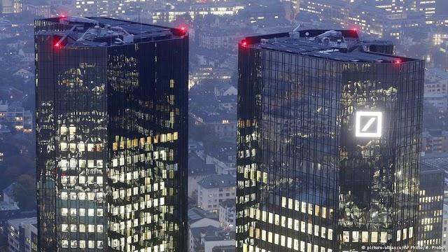 Δραματική πτώση της Deutsche Bank