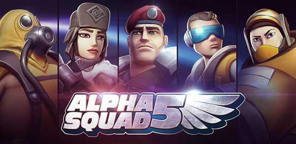 تحميل لعبة فرقة ألفا alpha squad 5 apk مهكرة آخر إصدار