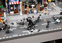 Lego: Avengers Age of Ultron 2015 movie diorama