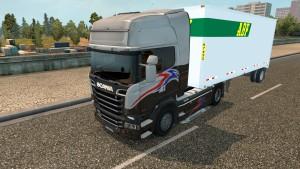 1 Axle American trailer standalone