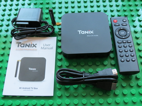 Video & Photo Gallery: Unboxing Tanix TX6 4GB RAM + 32GB ROM Android