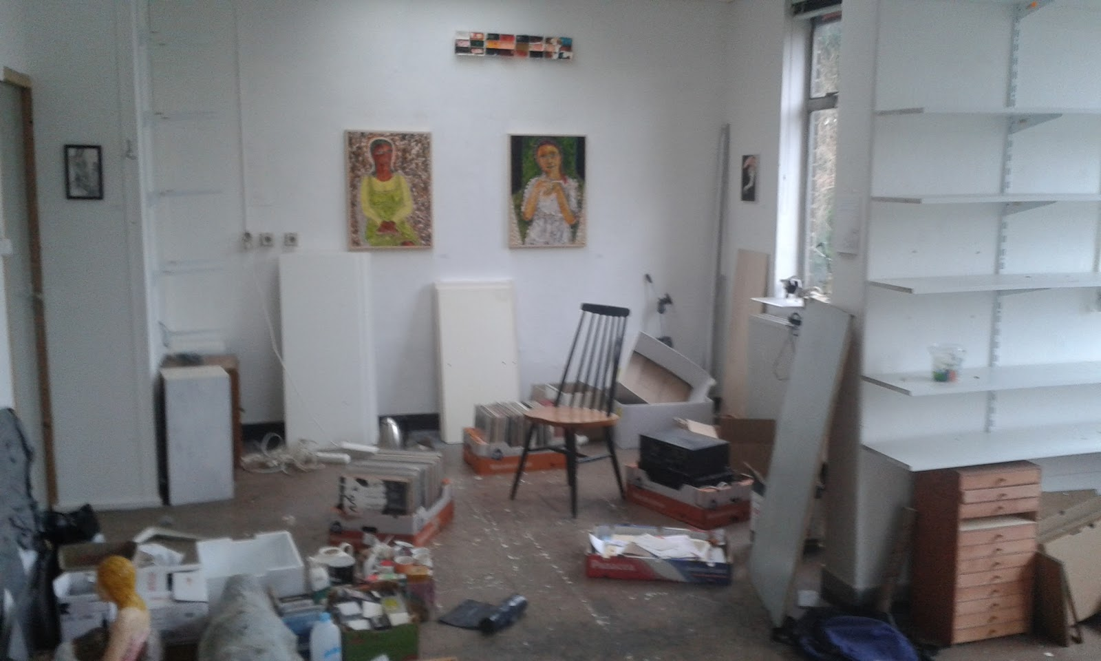 dismantling the old studio