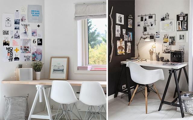 as podrs decorar la pared del escritorio sin renunciar a la y femineidad del estilo romntico