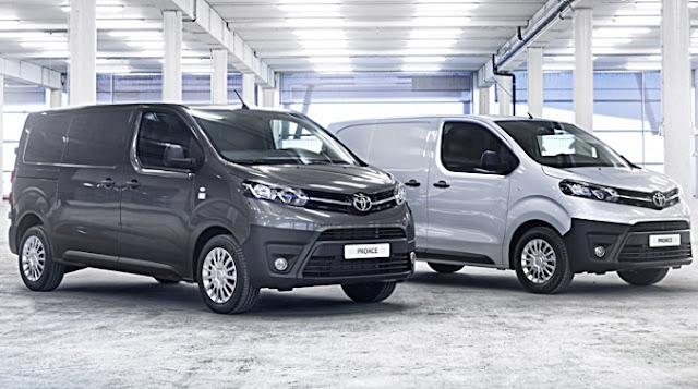 2017 Toyota Proace Van Redesign