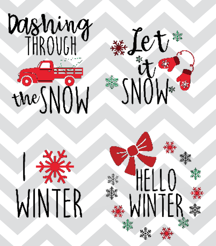 Download Christmas SVG Files for Pajamas and Tees | Sew Simple Home