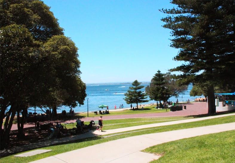 Perth Day 2 - Point Walter Sand Bar