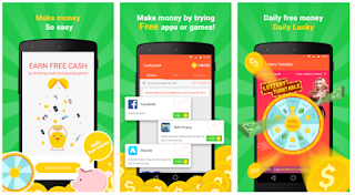 Cara Mendapatkan Dollar Lewat Android dengan Aplikasi LuckyCash