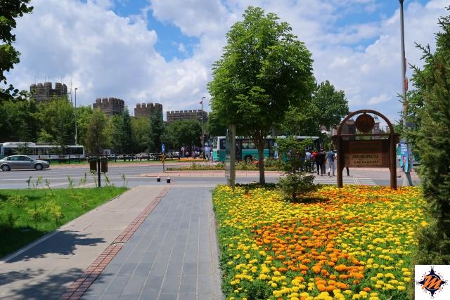 Kayseri, vista sul castello