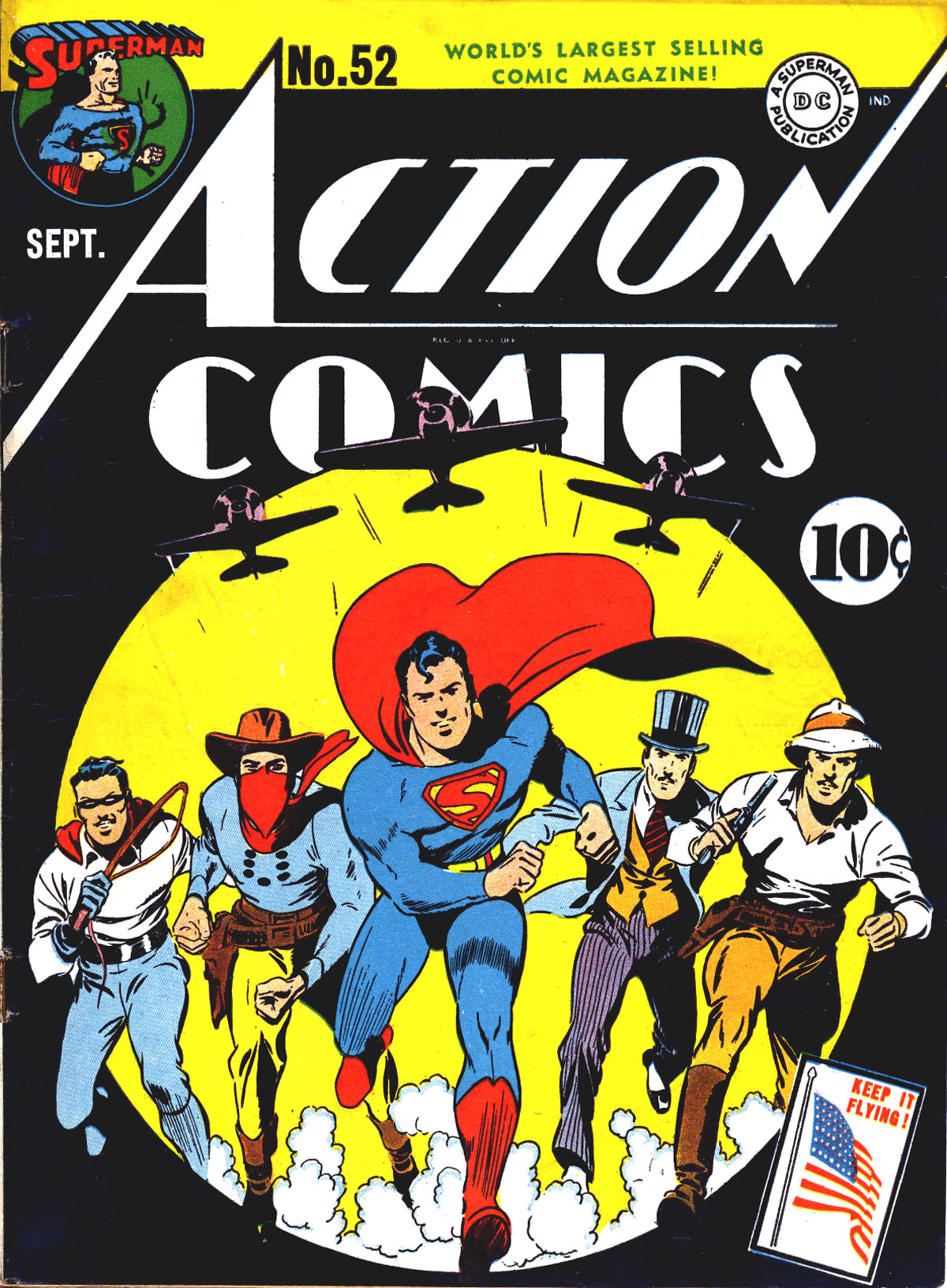 Read online Action Comics (1938) comic -  Issue #52 - 1