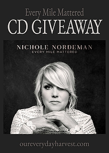 Every Mile Mattered CD Giveaway
