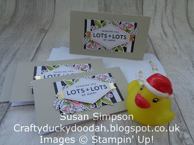 Stampin' Up! UK Independent  Demonstrator Susan Simpson, Craftyduckydoodah!, Lots of Happy Kit, Supplies available 24/7 from my online store,