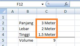 Format Numer Excel Satuan Pada Angka