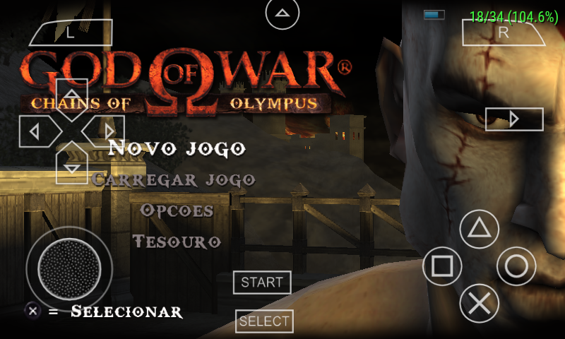 2X Gamer: ->God of War Chains of Olympus Size Game 85 MB