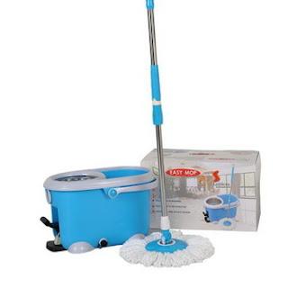 Easy mop ชุดถังปั่น รุ่น QQ Stanless