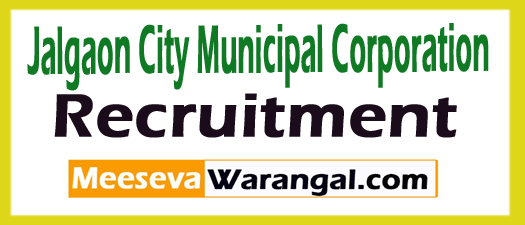 Jalgaon City Municipal Corporation JCMC Recruitment