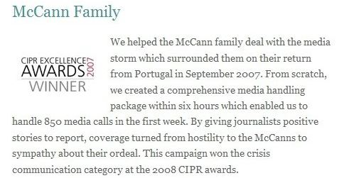 Chapter 16: Why did they do this ? Seven worrying problems  Mccann%2Bfamily