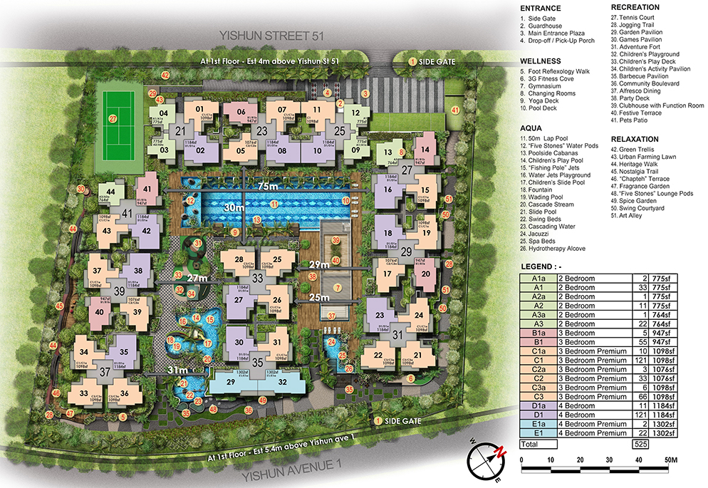 Signature at Yishun - Site Plan