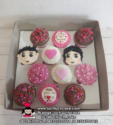 Cupcake Romantis dan Murah Untuk Anniversary