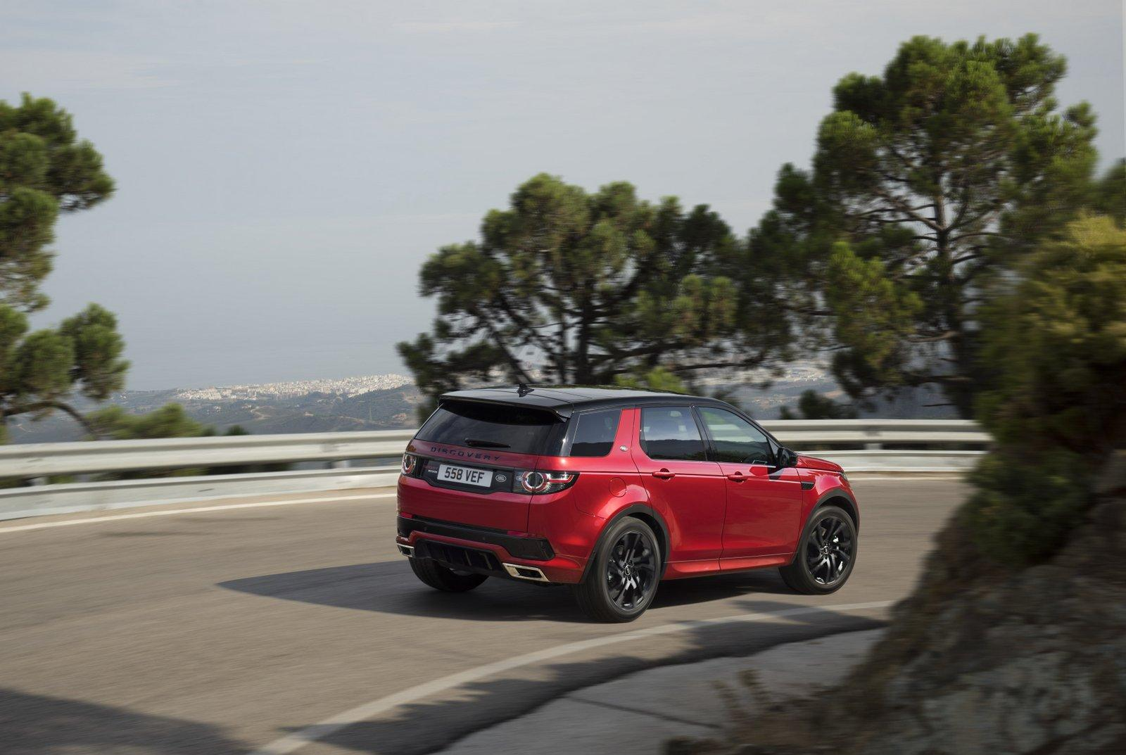 The Land Rover revealed the Dynamic Discovery Sport 2016 with ...
