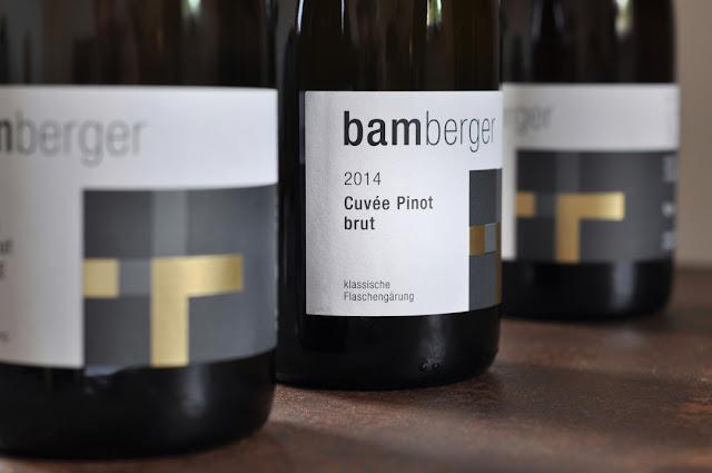Pinot brut Sekt Wein- und Sektgut Bamberger