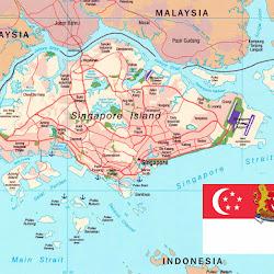 Peta Pulau Jawa Lengkap Keterangannya Web Sejarah Negara Singapura Gambar