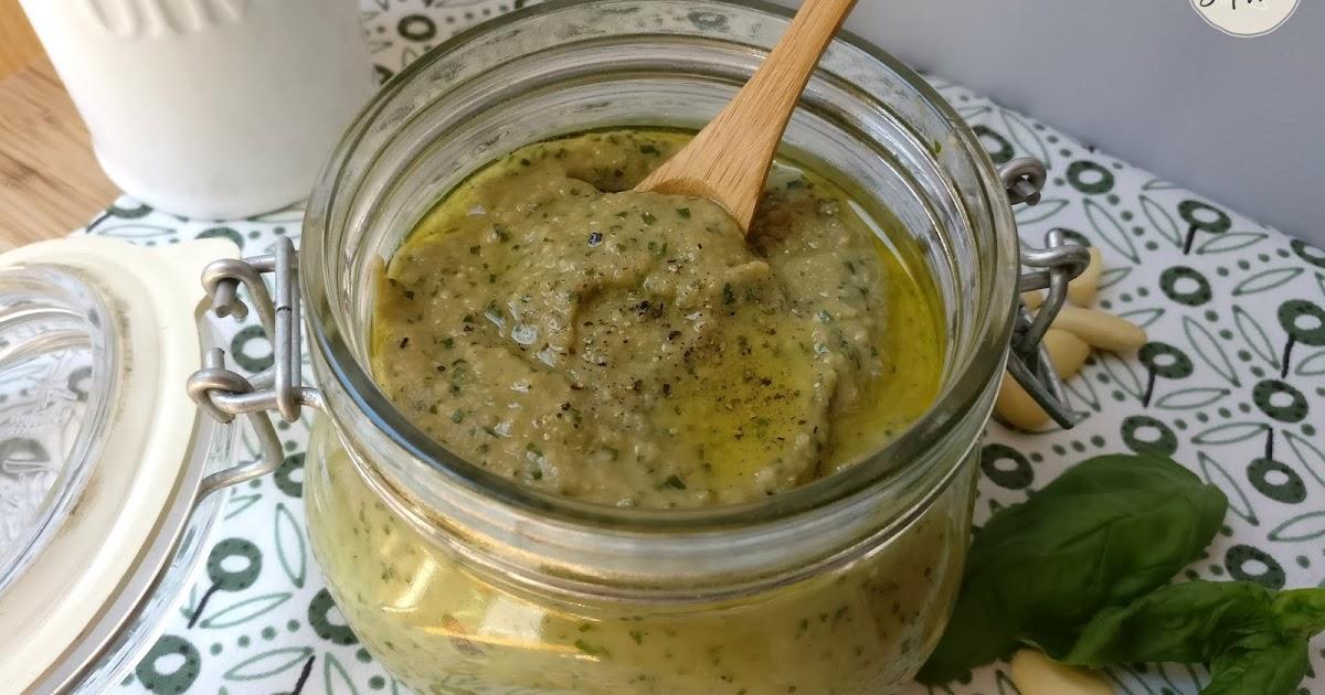 Pesto d 39 aubergine une recette vegan simple et rapide la - Recette vegan simple et rapide ...