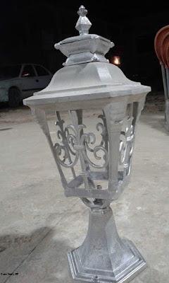 lampu mewah, lampu besi tempa, lampu antik