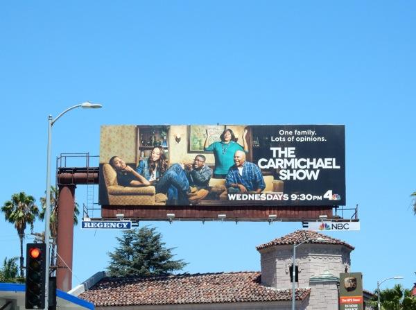 The Carmichael Show season 1 billboard