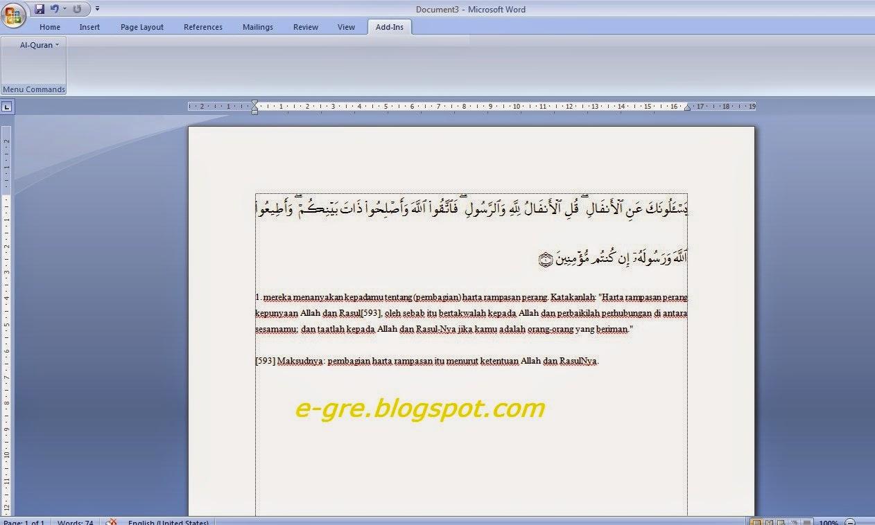 Al-Quran-Plugins