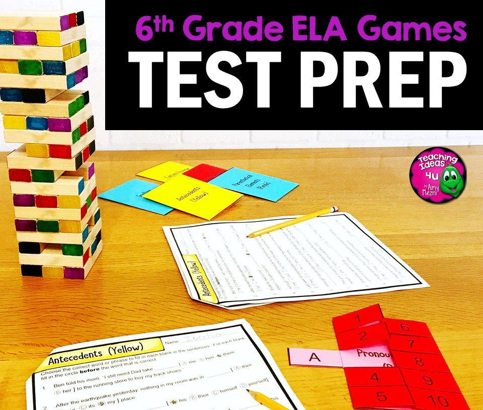 Complete Practice for 6th Grade ELA State Testing - TeachingIdeas4U ...
