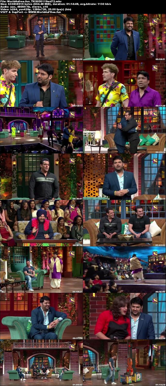 The Kapil Sharma Show S02E03 05 January 2019 720p WEBRip 600Mb
