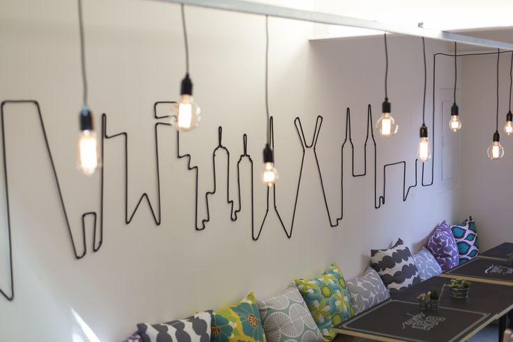 Lar doce ana ideias para decorar a sua parede com o cabo - Programa para decorar ...