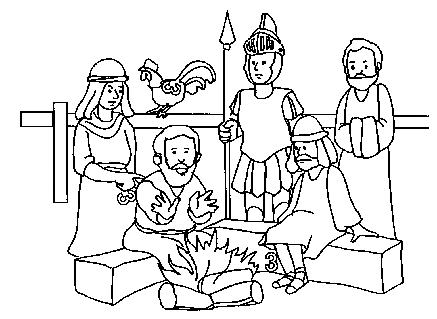 Download Good Friday Coloring Pages for Kids | Desktop ...