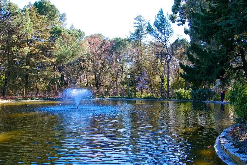 Fuente en Quinta de los Molinos