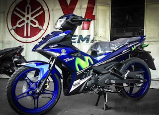 Kredit motor Yamaha MX KING GP Livery di Solo