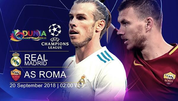 Nhận định Real Madrid vs AS Roma: Cẩn thận củi lửa!