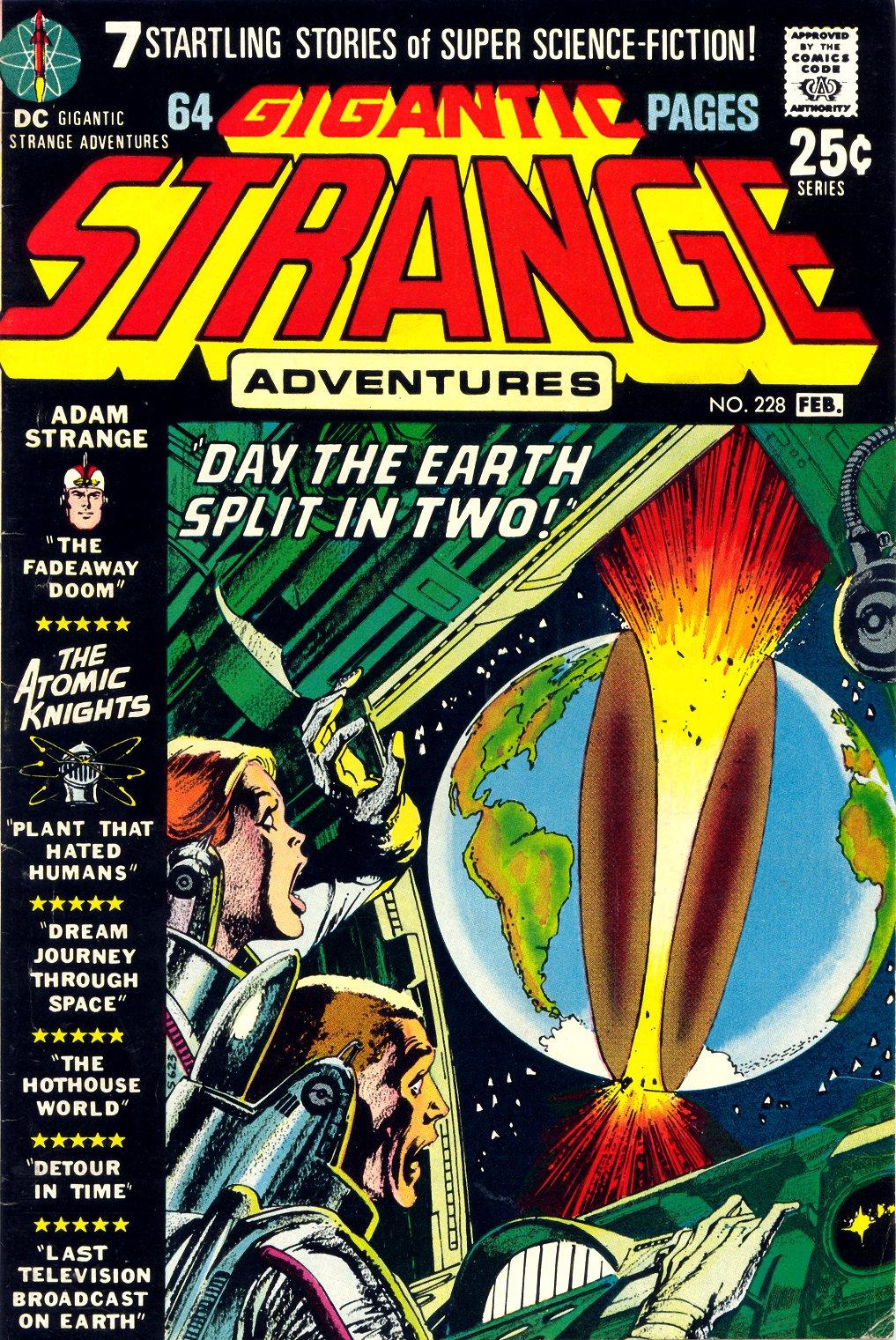 Strange Adventures (1950) issue 228 - Page 1