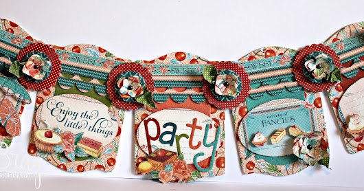 Party Banner with Tutorial - Eileen Hull Inspiration Team