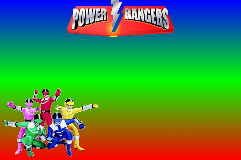Imprimibles De Power Rangers Ideas Y Material Gratis Para