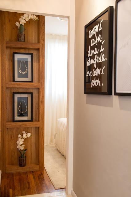 Nichos na parede: decoração com nichos embutidos. Blog Achados de Decoração