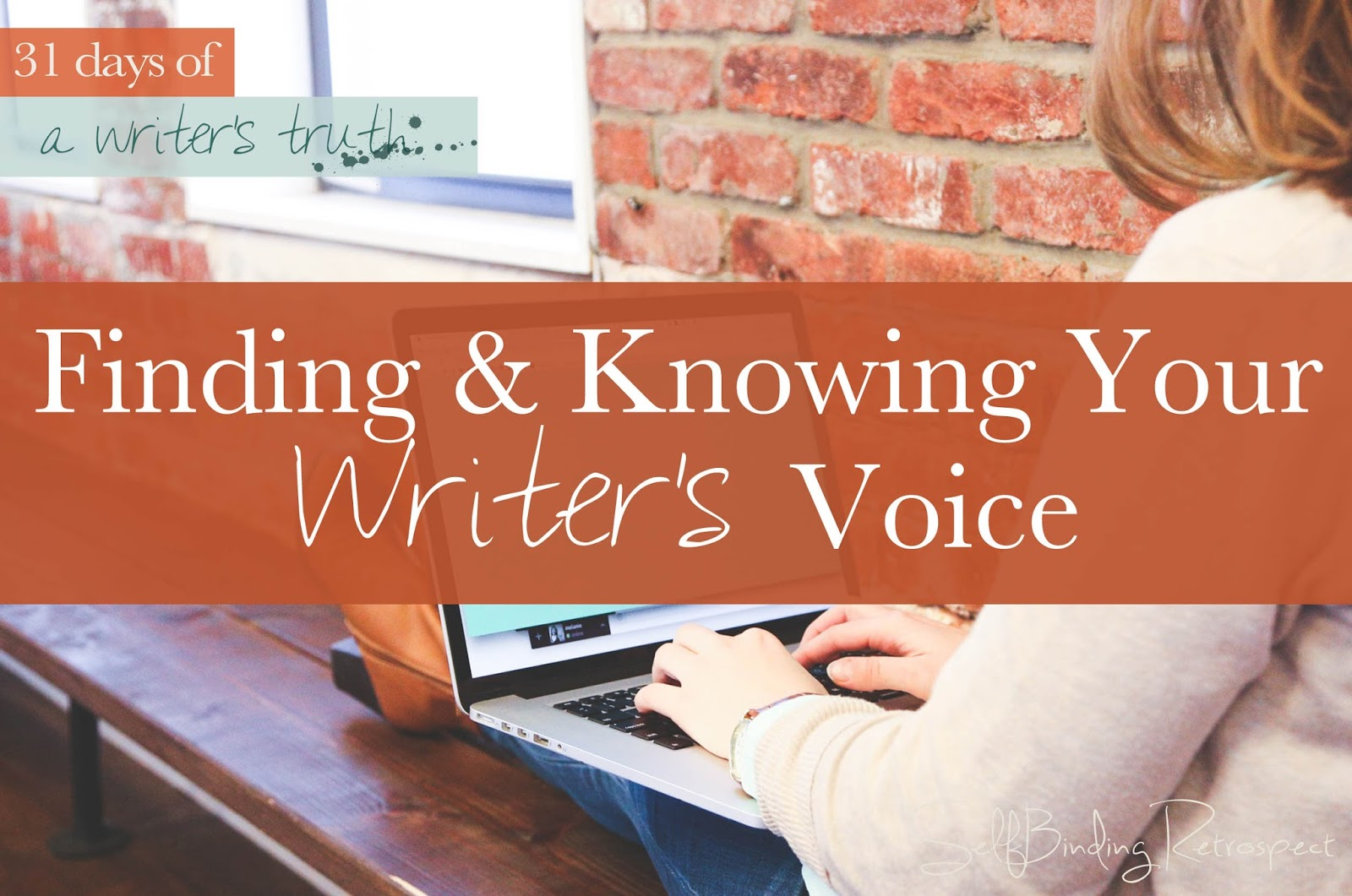 finding and knowing your writer's voice #write31days