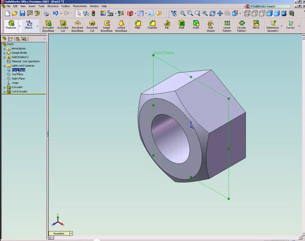 solidworks tutorial how to draw a nut solidworks share rh solidworks99 blogspot com SolidWorks Tutorials SolidWorks Classes