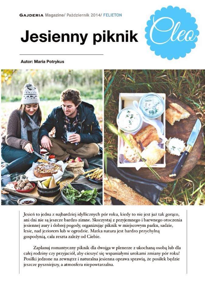 piknik jesienią